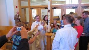 Brooke Andres Baptism