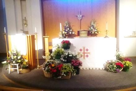 Easter 2014 Altar bright 2