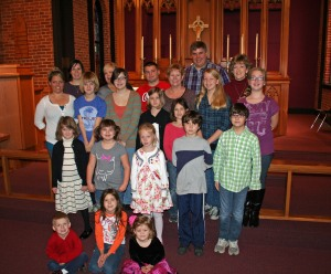 Sunday School, 2012-2013