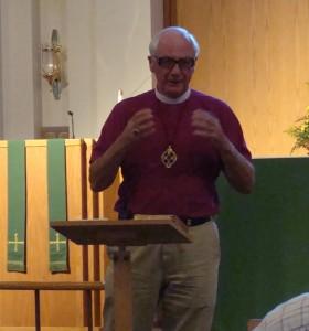 The Rt. Rev. Roger White, Oct 2009