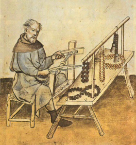 A Late Medieval English Bead Maker